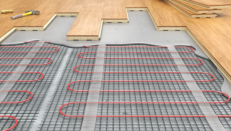 All About Heated Floors