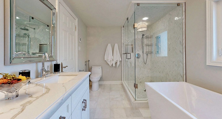 Modern Full Bathroom Renovation Toronto