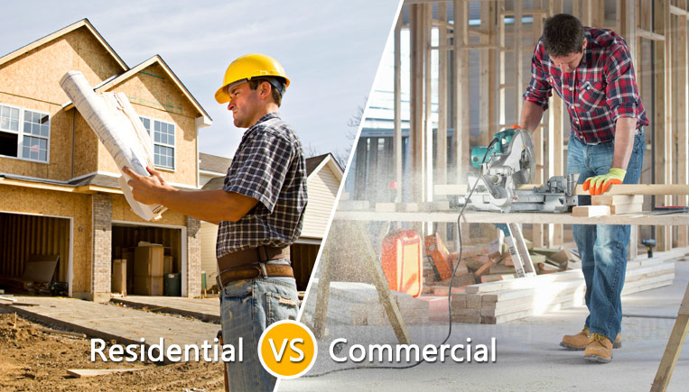 Residential Commercial Construction Differences